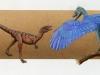 Compsognathus & Archaeopteryx