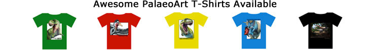 Dinosaur Art T-Shirts