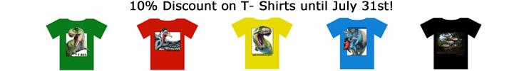 Discount Dinosaur T Shirts