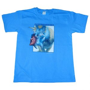 Pachyrhinosaurus T Shirt Blue Child