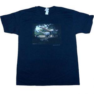 Sauropod T Shirt Black Adult