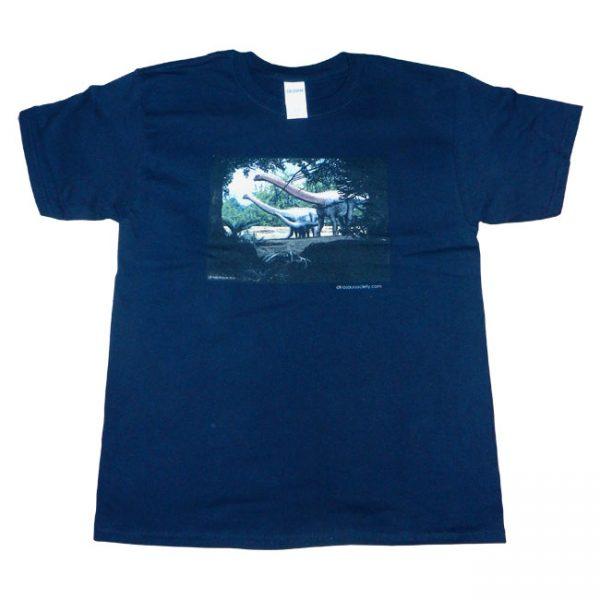Sauropod T Shirt Black Child