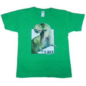 Trex T Shirt Green Adult