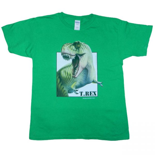 Trex T Shirt Green Adult
