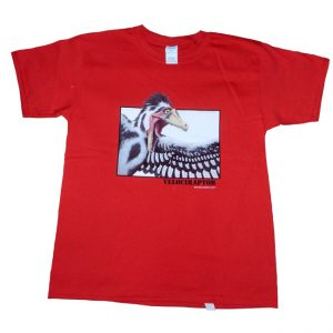 Velociraptor T Shirt Red Child